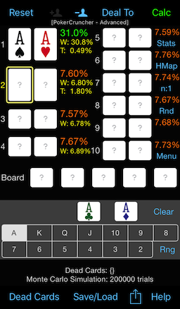 PokerCruncher - Up To 10 Players